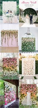 wedding backdrop of flowers best 25 flower wall wedding ideas on flower backdrop