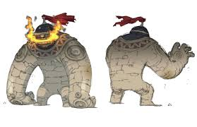 Final Fantasy The 4 Heroes Of Light Final Fantasy The 4 Heroes Of Light Golem Concept Creatures