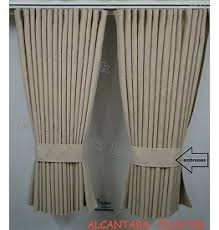 Two Different Colored Curtains Curtains Truckwash Asten