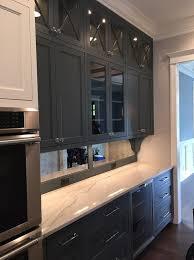 mirrored kitchen backsplash mirrored backsplash design ideas
