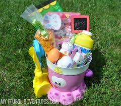 filled easter baskets for kids easter basket ideas my frugal adventures