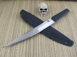 dav winch huge custom fighter stabbers knives pinterest