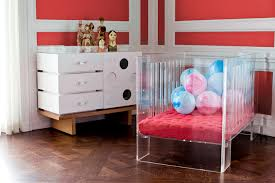 Modern Nursery Furniture by Acrylic Baby Furniture