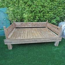 Wooden Outdoor Daybed Furniture by Gorgeous Outdoor Wooden Daybed And You Paid More Than Me Diy