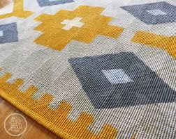Modern Kilim Rugs Paint The Gold Jellybean