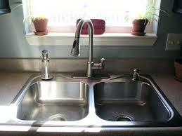 black soap dispenser kitchen sink soap dispensers kitchen sinks pop up stainless steel kitchen sink