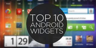 android widget top 10 android widgets