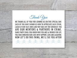 how to do a wedding program diy thank you card thank you message wedding program
