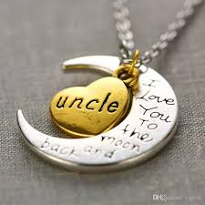 love you gold necklace images Wholesale stylish charm necklace gold i love you mother mom dad jpg