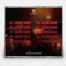 music u2013 premium mixtape album cd cover template