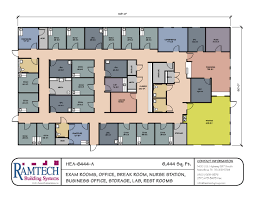 Floor Plans For Narrow Blocks by Modular Medical Building Floor Plans Healthcare Clinics U0026 Offices