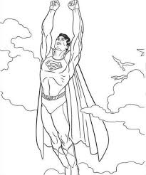 superhero movie superman coloring pages womanmate com
