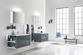 Bathroom Washbasin Cabinets Double Washbasin Cabinet Wall Hung Melamine Wooden 5 Zero
