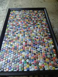 beer cap table top 18 diy beer bottle cap table designs guide patterns