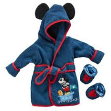 robe de chambre mickey disney baby boys terry robe mickey only in stores not