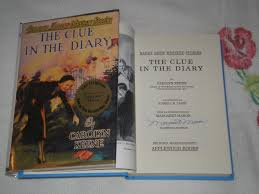 clue diary by carolyn keene first edition abebooks