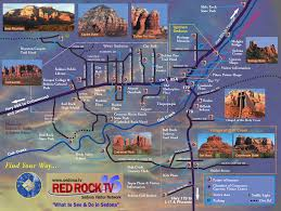 Map Phoenix Arizona by Sedona Arizona Attractions Sedona Tourist Map See Map Details