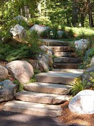 stone steps landscaping pinterest stone steps stone and