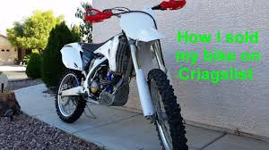 motocross bikes for sale in kent how to sell a dirt bike on craigslist youtube