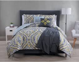 Navy Blue Bedding Set by Bedroom Awesome White And Yellow Bedding Comforter Set With White