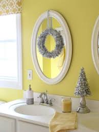 Decorate A Bathroom Mirror Remodelaholic Holiday Decorating Ideas For Every Room In Your Home