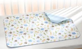 Crib Mattress Protector Pad 56 Baby Crib Pad Organic Cotton Waterproof Pack N Play Crib Pad