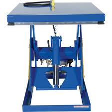 Hydraulic Scissor Lift Table by Vestil Rotary Air Hydraulic Scissor Lift Table Pneumatic Lift