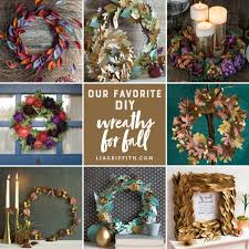 our favorite diy wreaths for fall lia griffith