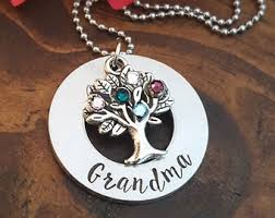 grandmother s necklace mothers day necklace etsy