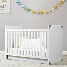 dorel living baby relax miles 2 in 1 convertible crib white