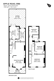 Althorp House Floor Plan House To Rent In London Epple Road Sw6 Parsons Green Prl100272
