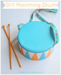 marching drum tutorial from little button diaries d i y