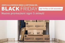 amazon countdown to black friday offerte amazon parte countdown per il black friday smartworld