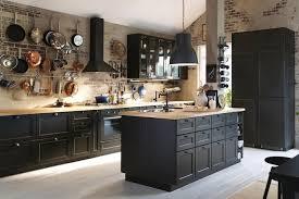cuisine ik2a cuisine bois noir ikea photos de design d intérieur et