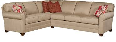 Bentley Sectional Sofa King Hickory