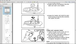ebook manual de serviço motor popa evinrude johnson suzuki r