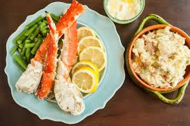 what side dishes go with crab legs leaftv