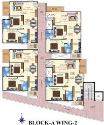 600sft Floor Plan 1204 sq ft 2 bhk 2t apartment for sale in sv constructions