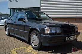mercedes 190e 2 3 16 cosworth blue black