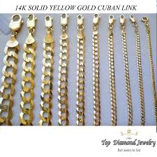 long yellow gold necklace images 2 0mm 6mm 14k solid yellow gold cuban link women men 39 s necklace jpg