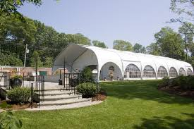 tent building corporate meeting spaces endicott college