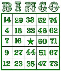 christmas bingo cards printable christmas lights decoration