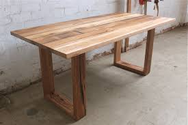 Reclaimed Timber Dining Table Plain Design Hard Wood Table Recycled Timber Tables Tim T Gul