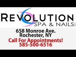 revolution spa u0026 nails rochester ny nail salon youtube