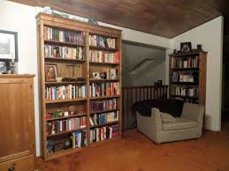 Swinging Bookcase Secret Door Bookcase 18 Steps With Pictures