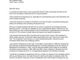 entrepreneur cover letter phenomenal consulting cover letter