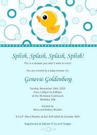rubber duck baby shower invitations themesflip com