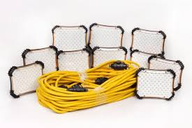temporary job site lighting cep construction electrical products 97132 100 feet led light string