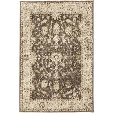 area rugs home decorators home decorators collection old treasures brown cream 3 ft 3 in x