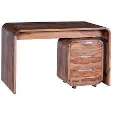 Schreibtisch 130 X 80 Salesfever Schreibtisch Aus Shisham Massivholz 130x70 Cm Shia
